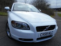 2009 VOLVO C70 2.0 D S 2d 136 BHP **CONVERTIBLE , 1 OWNER ,FULLY LOADED,  FULL WHITE LEATHER , SUPERB THROUGHOUT ** £6995.00