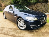 2014 BMW 5 SERIES 2.0 520D LUXURY 4d AUTO 181 BHP £16000.00