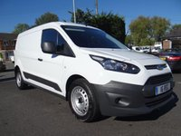 2014 FORD TRANSIT CONNECT 210 L2 LWB ECONETIC 1.6Tdci 95Ps £8995.00