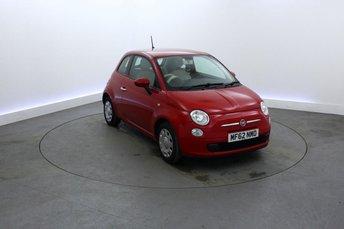 2012 FIAT 500 1.2 POP 3d 69 BHP £4895.00