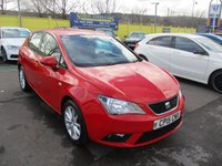 USED 2015 15 SEAT IBIZA 1.4 TOCA 5d 85 BHP WAS £7,995 NOW ONLY £7,495 !!