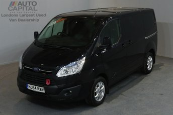 2014 FORD TRANSIT CUSTOM 2.2 290 LIMITED L1 H1 SHORT WHEELBASE LOW ROOF 5d 124 BHP A/C £9980.00