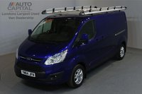 USED 2015 64 FORD TRANSIT CUSTOM 2.2 290 LIMITED 124 BHP L2 H1 LWB LOW ROOF A/C ONE OWNER FROM NEW