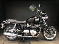 2009 TRIUMPH BONNEVILLE SE. 09. 12263 MILES. FSH. TORS EXHAUSTS. C STAND. SCREEN. ALARM £4895.00