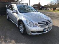 2006 MERCEDES-BENZ R CLASS 3.5 R350 SE 5d AUTO 272 BHP £4995.00