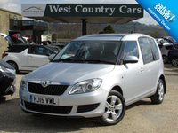 USED 2015 15 SKODA ROOMSTER 1.2 SE TSI 5d 85 BHP Only 2 Owners From New