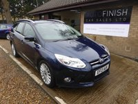 USED 2013 13 FORD FOCUS 1.6 TITANIUM X TDCI 5d 113 BHP 1 OWNER FROM NEW, FULL SERVICE HISTORY, DAB RADIO, PARKING AID, CRUISE CONTROL