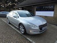 2012 PEUGEOT 508 2.0 HDI ALLURE 4d 140 BHP £4995.00