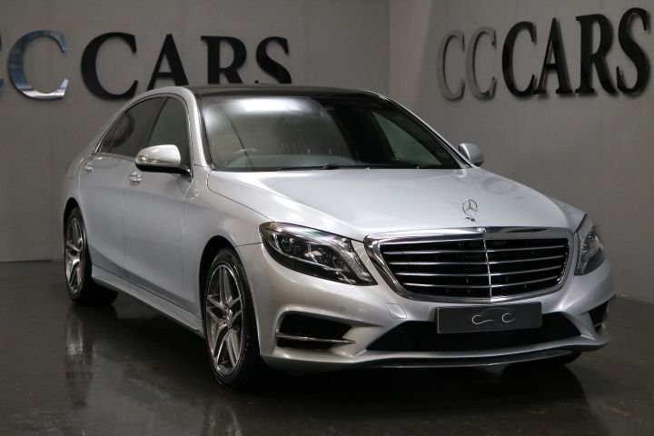 USED 2014 64 MERCEDES BENZ S CLASS 3.5 S400 HYBRID L AMG LINE EXECUTIVE 4d  ...