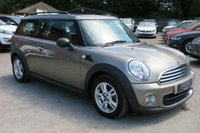 2012 MINI CLUBMAN 1.6 ONE D AVENUE 4d 90 BHP £7750.00