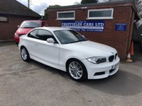 USED 2012 61 BMW 1 SERIES 2.0 120D M SPORT 2d 175 BHP 4 SERVICE STAMPS