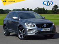 2015 VOLVO XC60 2.0 D4 R-DESIGN LUX NAV 5d AUTO 187 BHP £17999.00