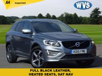 2015 VOLVO XC60 2.0 D4 R-DESIGN LUX NAV 5d AUTO 187 BHP £17750.00