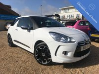 2011 CITROEN DS3 1.6 HDI BLACK AND WHITE 3d 90 BHP £5995.00