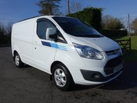 2015 FORD TRANSIT CUSTOM 270 LIMITED L1 SWB 2.2Tdci 125Ps £15495.00