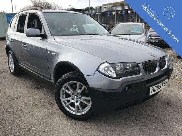 2005 05 BMW X3 2.5 SE 5d AUTO 190 BHP