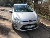 2011 FORD FIESTA 1.4 ZETEC 16V 5d AUTO 96 BHP £6250.00