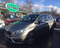 2015 BMW 2 SERIES 1.5 216D SPORT ACTIVE TOURER 5d 114 BHP