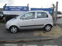 USED 2009 59 CHEVROLET MATIZ 0.8 SE 5d AUTO 51 BHP 6 Service History .1 Former Keeper. New MOT & Full Service Done on purchase + 2 Years FREE Mot & Service Included After . 3 Months Russell Ham Quality Warranty . All Car's Are HPI Clear . Finance Arranged - Credit Card's Accepted . for more cars www.russellham.co.uk  - Spare Key-Book Pack.