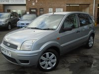 2004 FORD FUSION 1.6 FUSION PLUS 5d 100 BHP £995.00