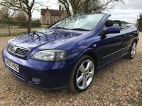 2005 VAUXHALL ASTRA 1.8 EXCLUSIVE 16V 2d 125 BHP £3900.00