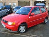1999 VOLKSWAGEN POLO 1.4 CL 3d AUTO 59 BHP £595.00