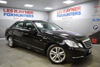 2012 MERCEDES-BENZ E CLASS 2.1 E220 CDI BLUEEFFICIENCY S/S AVANTGARDE 4d AUTO 170 BHP £10999.00