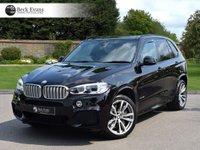 USED 2017 BMW X5 4.4 XDRIVE50I M SPORT 5d AUTO 443 BHP IVORY LEATHER LOW MILEAGE