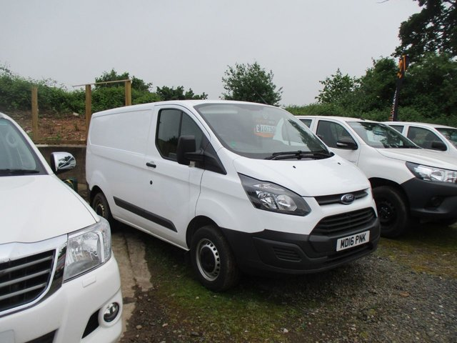 2016 16 FORD TRANSIT CUSTOM 2.2 290 LR SWB L1 105 BHP FORD WARRANTY JUNE 2019