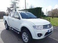 2015 MITSUBISHI L200 4X4 WARRIOR Double Cab Pick Up 2.5 DI-D  175Ps £11495.00