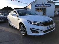 2014 KIA OPTIMA 1.7 CRDI 3 ECODYNAMICS 4d 134 BHP £12500.00