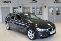 USED 2014 63 BMW 3 SERIES 2.0 320D EFFICIENTDYNAMICS TOURING 5d AUTO 161 BHP FULL BMW SERVICE HISTORY + SAT NAV + BLUETOOTH + £30 ROAD TAX + REAR PARKING SENSORS + DAB RADIO + 16 INCH ALLOYS