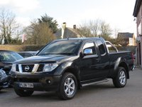 USED 2008 08 NISSAN NAVARA 2.5 OUTLAW DCI 4X4 SWB SHR KING CAB 1d 169 BHP NO VAT TO PAY, AIR CONDITIONING, LEATHER