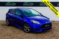 USED 2014 64 FORD FOCUS 2.0 ST-3 5d 247 BHP £0 DEPOSIT FINANCE AVAILABLE, AIR CONDITIONING, AUX INPUT, CD PLAYER, CLIMATE CONTROL, DAB RADIO, FORD KEY FREE SYSTEM, FULL RECARO UPHOLSTERY, PARK PILOT REVERSE SENSORS, STEERING WHEEL CONTROLS