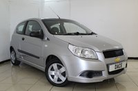 USED 2009 59 CHEVROLET AVEO 1.2 S 3DR 83 BHP SERVICE HISTORY + LOW MILEAGE + RADIO/CD + AUXILIARY PORT + ELECTRIC WINDOWS