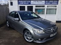 USED 2010 60 MERCEDES-BENZ C CLASS 2.1 C250 CDI BLUEEFFICIENCY SPORT AUTO  29K FSH 1FAMILY OWNER  SAT/NAV  CRUISE  HIGH SPEC EXCELLENT CONDITION