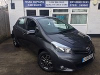 USED 2014 63 TOYOTA YARIS 1.0 VVT-I ICON PLUS 5d 69 BHP 15K FSH 1LADY OWNER HIGH SPEC SAT/NAV  R CAMERA. EXCELLENT CONDITION