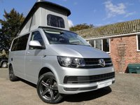 USED 2017 17 VOLKSWAGEN TRANSPORTER 2.0 TDI T6 Camper Van Brand New Conversion, A/C, Cruise