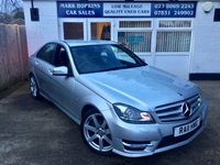 USED 2012 11 MERCEDES-BENZ C-CLASS C220 CDI AUTOMATIC 38K FSH HIGH SPEC MODEL LEATHER SAT/NAV EXCELLENT CONDITION
