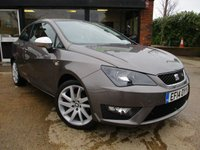 2014 SEAT IBIZA 1.2 TSI FR 3d 104 BHP £7500.00