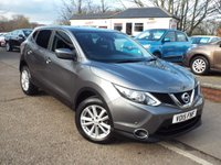 USED 2015 15 NISSAN QASHQAI 1.5 DCI ACENTA PLUS 5d 108 BHP Full Service History With HIGH Spec