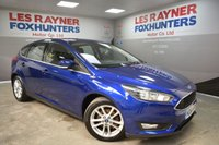 USED 2015 64 FORD FOCUS 1.6 ZETEC TDCI 5d 114 BHP Full Ford Service History, 1 Owner, Low road tax, Bluetooth