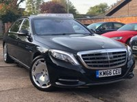 2016 MERCEDES-BENZ S CLASS 6.0 MAYBACH S600 AUTO  £89000.00
