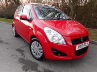 USED 2013 13 SUZUKI SPLASH 1.0 SZ2 5d 68 BHP * 1 Private Owner From New*