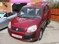 2009 FIAT DOBLO 1.4 8V DYNAMIC H/R 5d WAV WHEELCHAIR RAMP ACCESS £4995.00