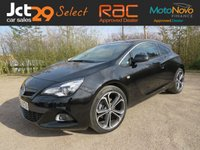 USED 2016 VAUXHALL ASTRA 1.6 GTC LIMITED EDITION S/S 3d 197 BHP Sat Nav / Leather / Nearly New