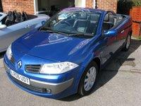 2006 RENAULT MEGANE 1.6 DYNAMIQUE VVT 2d AUTO 110 BHP £SOLD