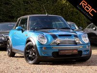 USED 2007 07 MINI CONVERTIBLE 1.6 COOPER S 2d 168 BHP