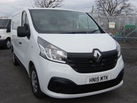 USED 2015 15 RENAULT TRAFIC 1.6 SL29 BUSINESS PLUS DCI L/R P/V 1d 115 BHP VAN SAT NAV AIR CON