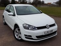 2015 VOLKSWAGEN GOLF 1.4 MATCH TSI BLUEMOTION TECHNOLOGY 5d 120 BHP £11995.00